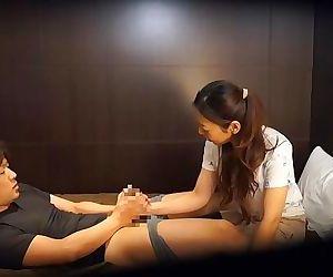 Japanese hotel massage gone..