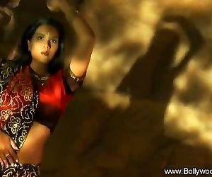 Indian Brunette Dance..