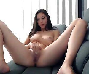 ASIAN CAM GIRL MASTURBATION