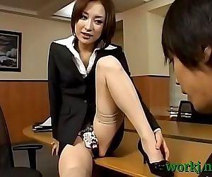 Asya ofis cici kız screwed..