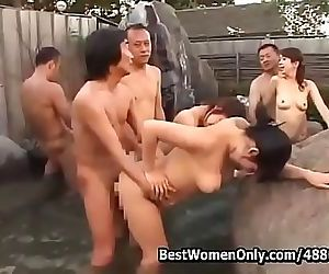Japanese Couples Orgy In..