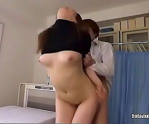 asian doctor gets creampied..