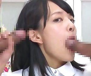 Japanese TV announcer gets..