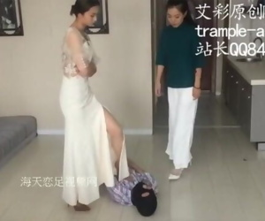 Two Asian Mistresses Beating..